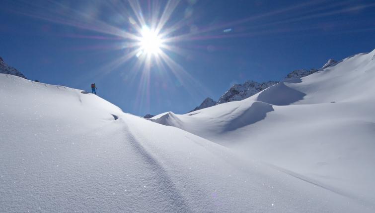 Schneelage mit Seltenheitswert!
