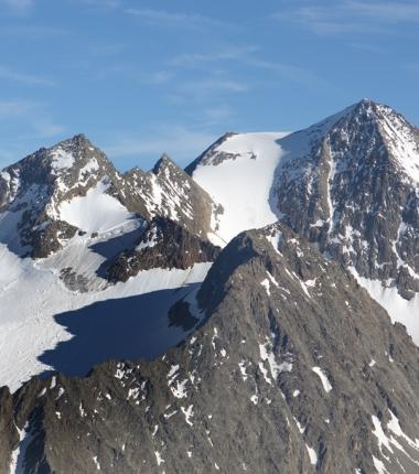 Östliche Seespitze, Mittlere Kräulspitze und Innsere Sommerwand.
