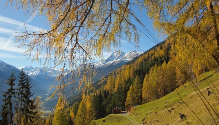 Am Weg zur Starkenburger Hütte