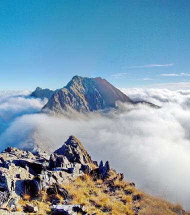 """Neben den Bergwanderwegen rot oder schwarz gibt es noch die Schwierigkeitsbewertung """"Alpine Route"""""""