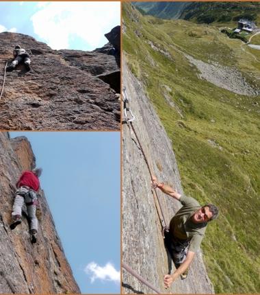Recht gut eingerichtete Klettergärten gibt es einige!