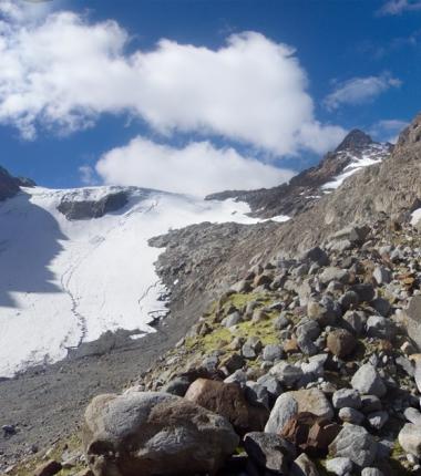 Was vom einst mächtigen Alpeiner Ferner noch übrig ist!