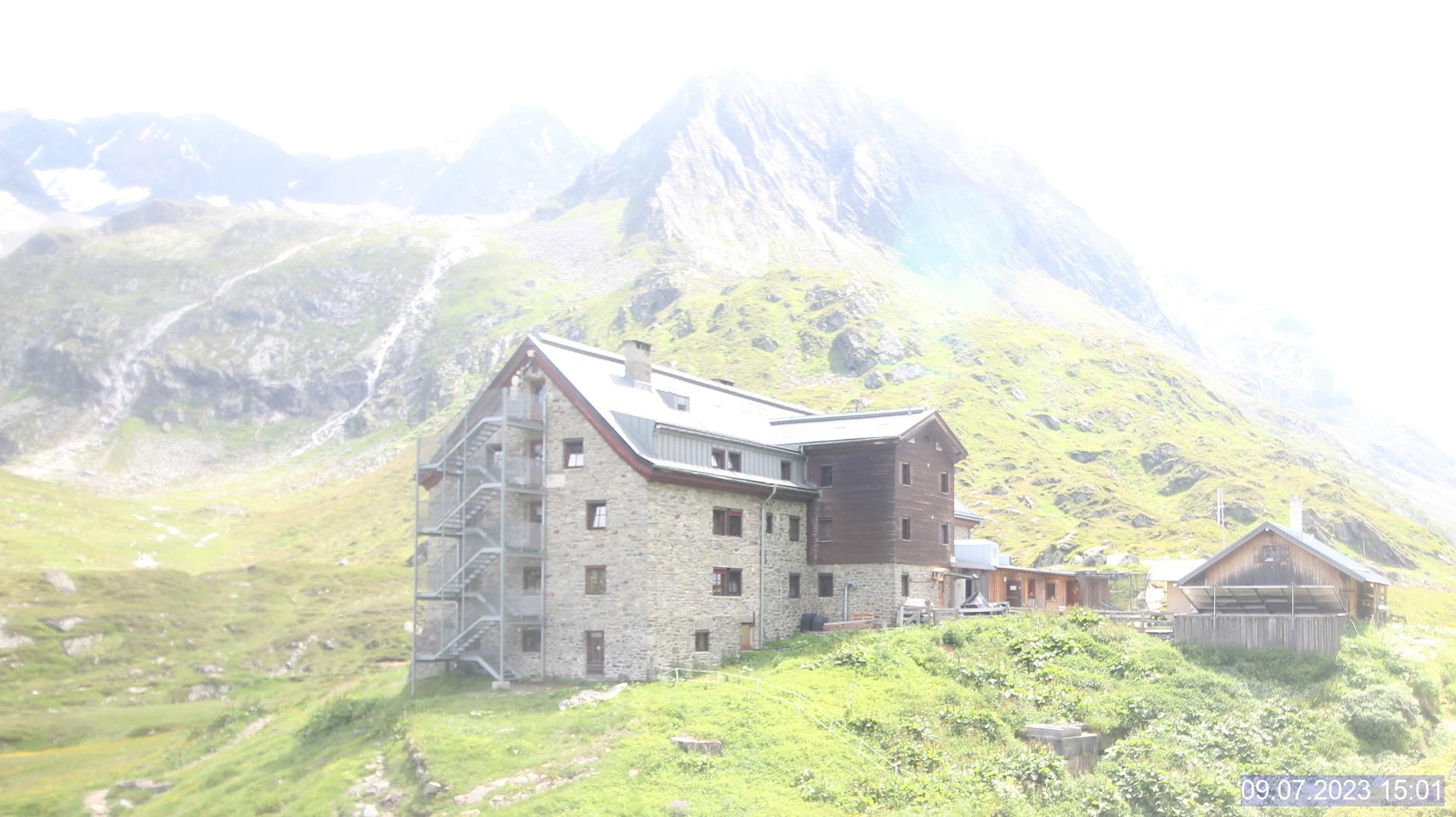WEBkamera Franz Senn Hütte